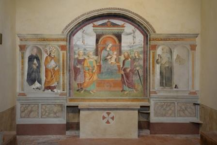 You are browsing images from the article: Concluso il Restauro nella Chiesa di Sant'Ippolito ad Asciano